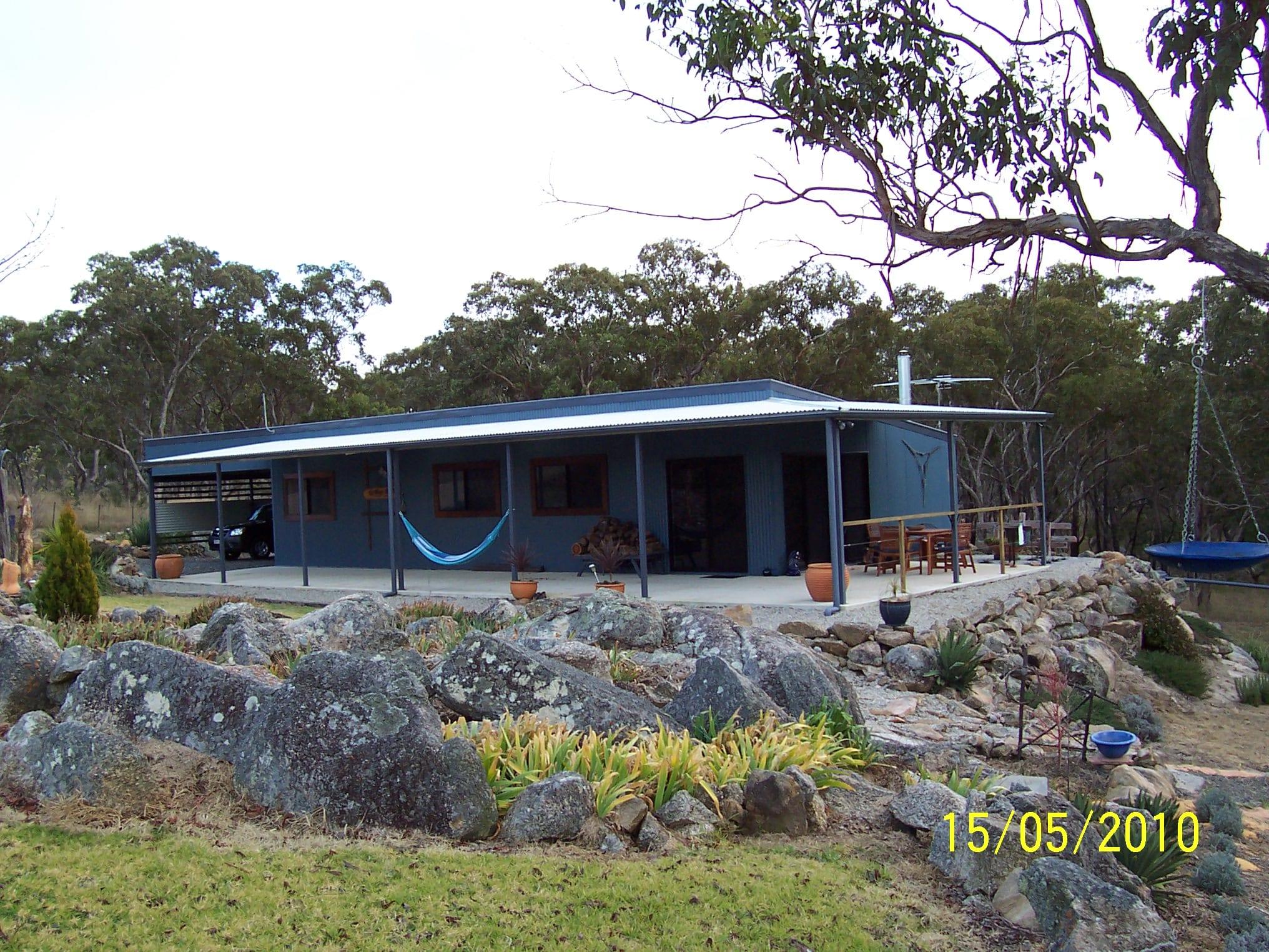 Skillion blue livable surrounding owning