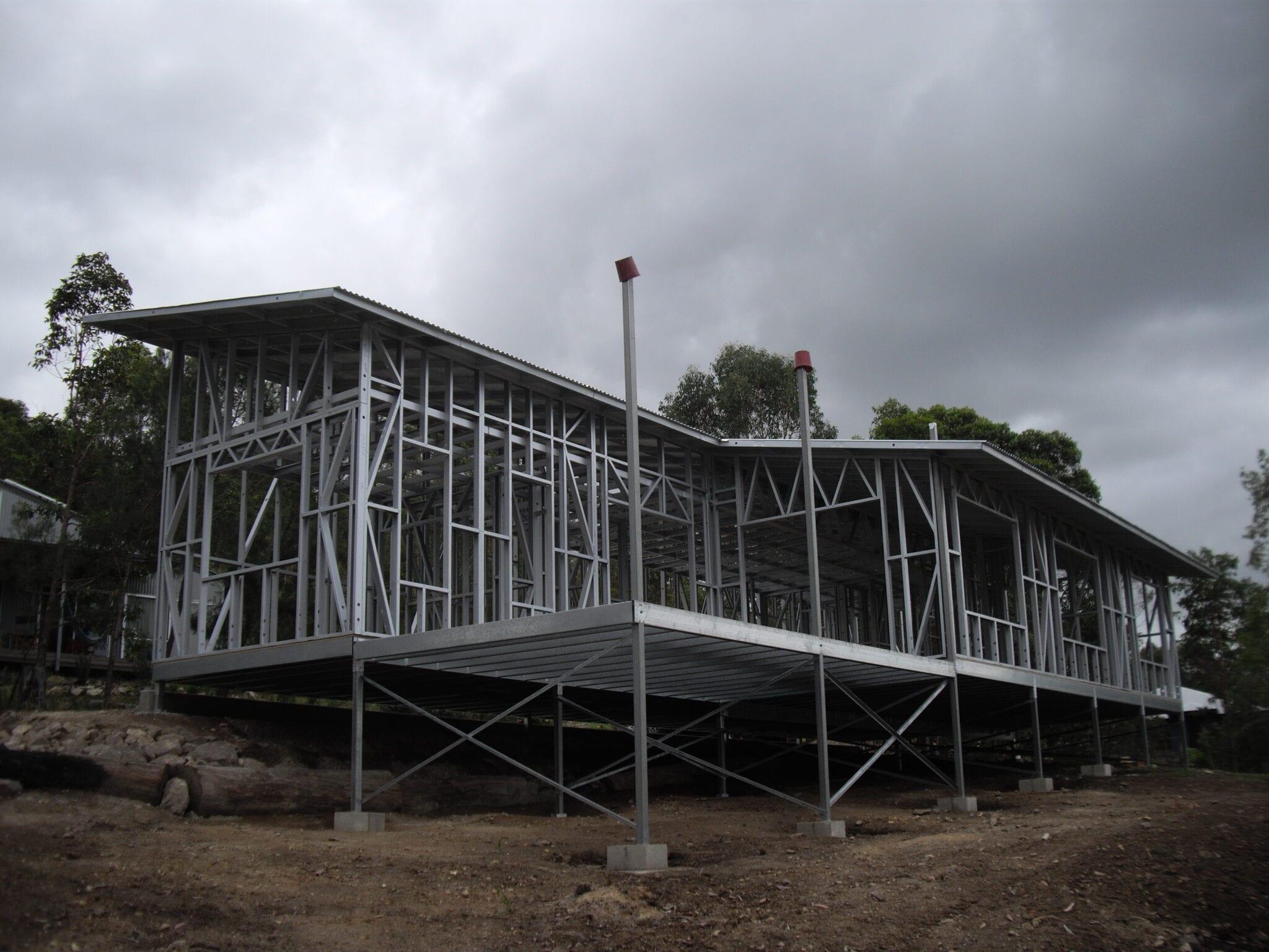 Skillion steel frame livable (2)