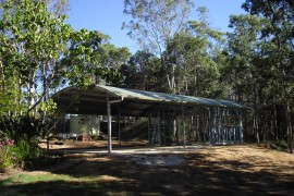 Curved Roof Sheds