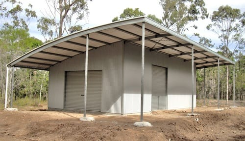 Curved Roof shed