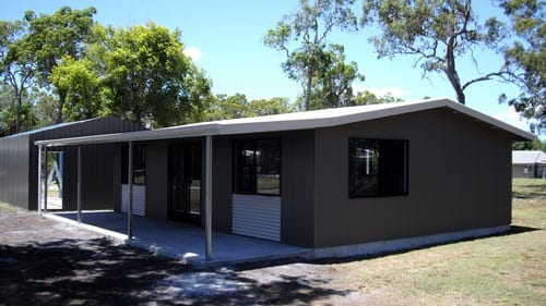 Grey liveable with owning and garage
