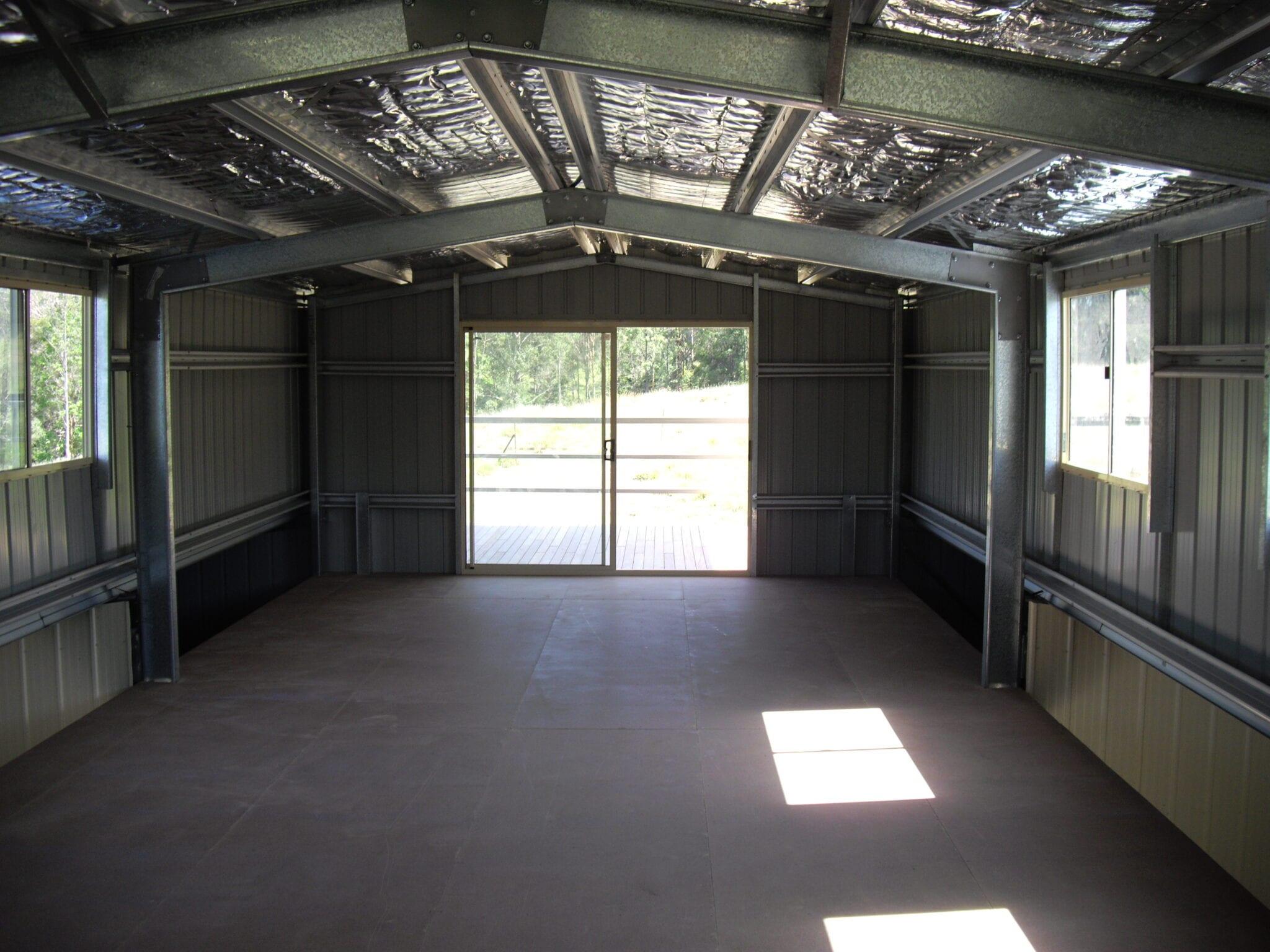 Inside gable frame gsd
