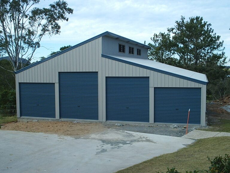 4 Bay Shed