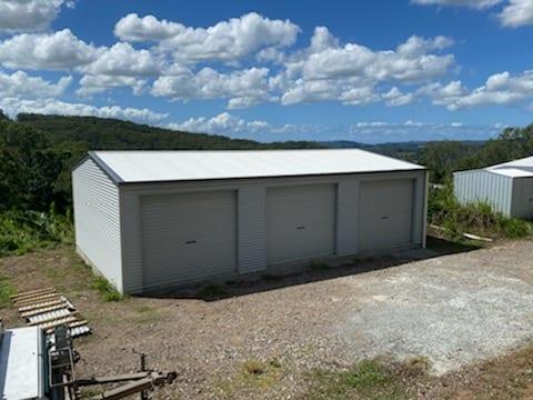 3 door gable shed