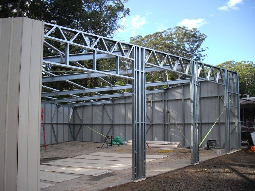 Skillion shed frame 3xrd