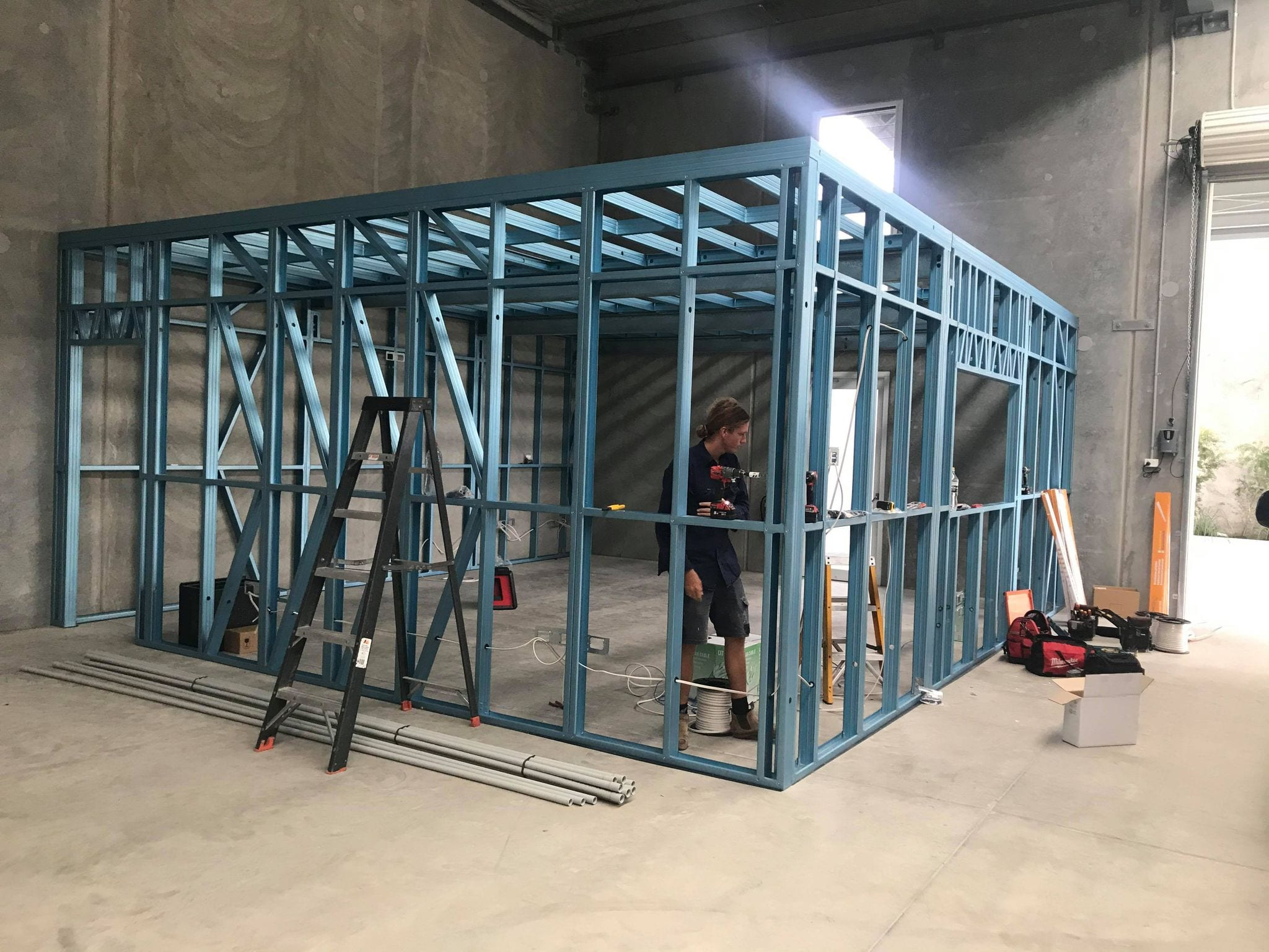 Workspace frame